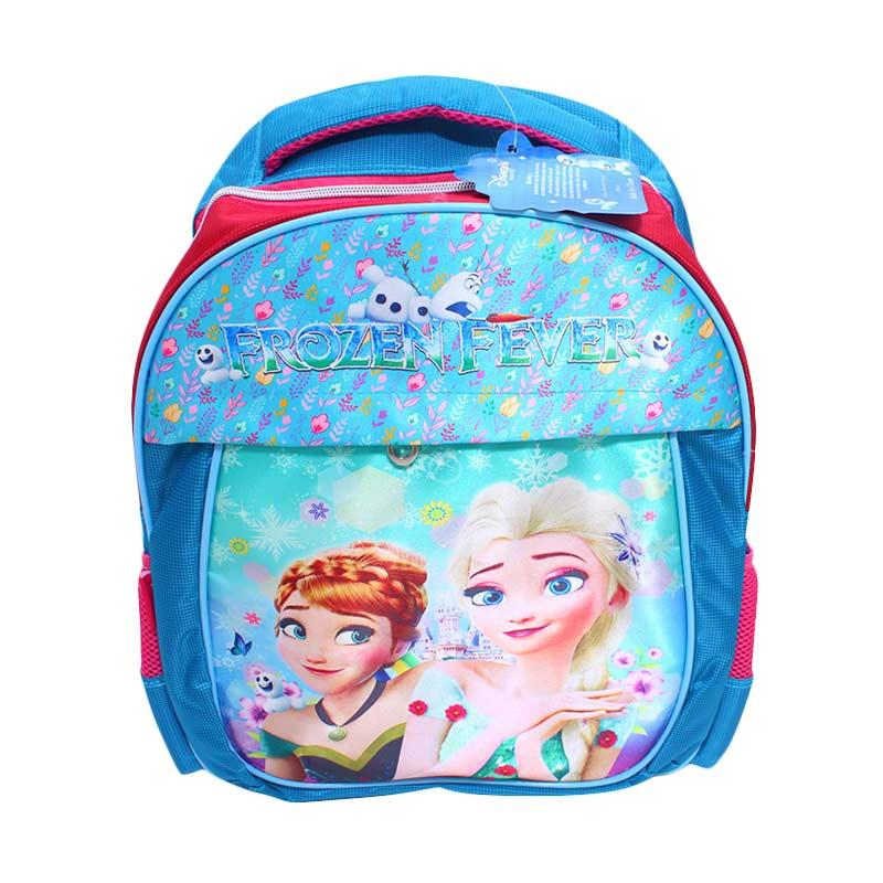 Istana Kado Ransel DL0653 Frozen Tas Sekolah Anak - Biru [16 inch]