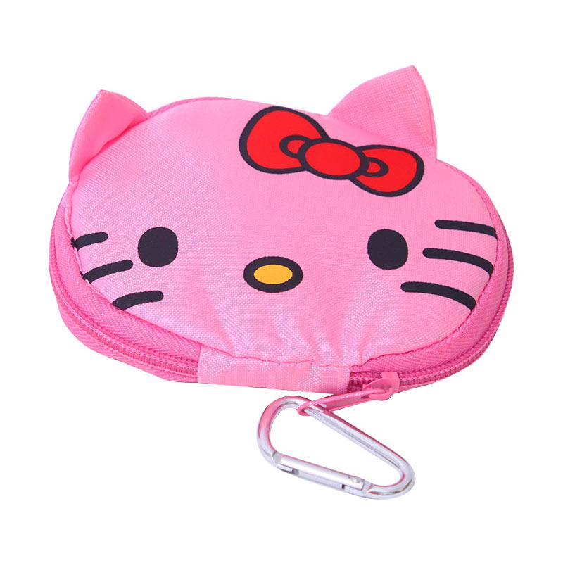 Istana Kado Tas Belanja Lipat Dompet Praktis Hello Kitty Shopping Bag