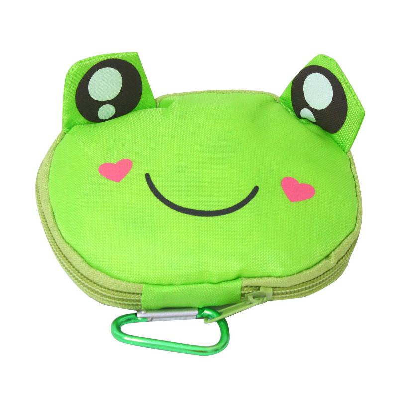 Istana Kado Tas Belanja Lipat Dompet Praktis Keropi Kodok Frog Shopping Bag