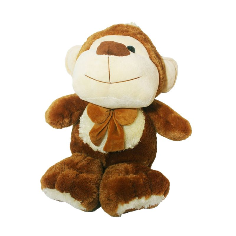 Istana Kado Online Animal Character Floppy Duti Monkey Boneka [36 Inch]