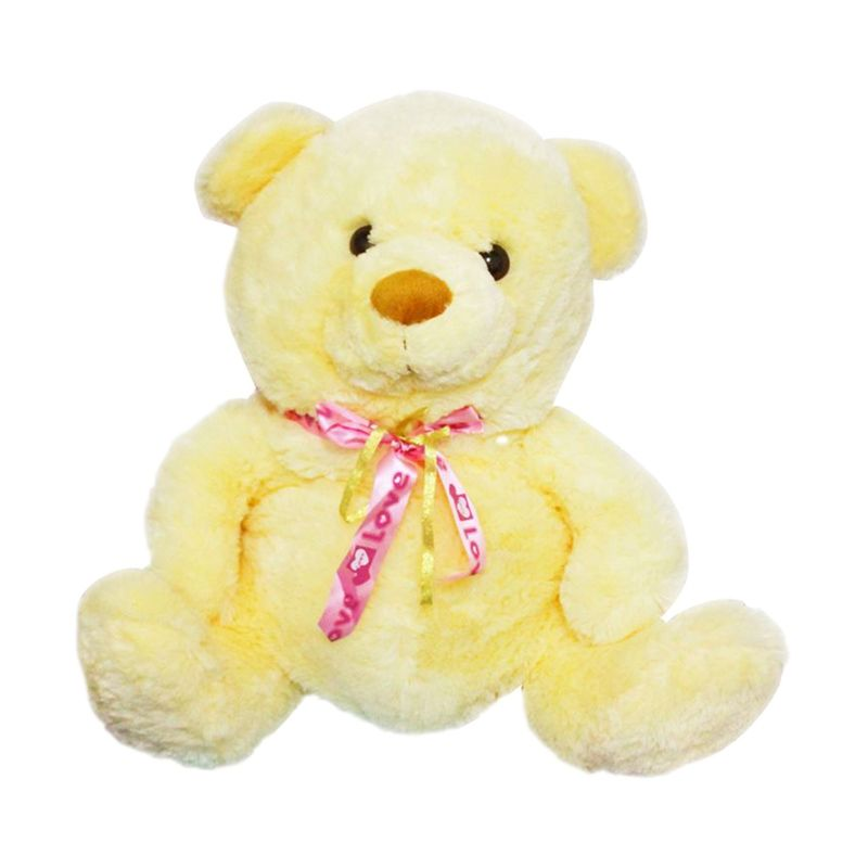 Istana Kado Binatang Animal Teddy Bear Pita Jumbo Yellow Boneka
