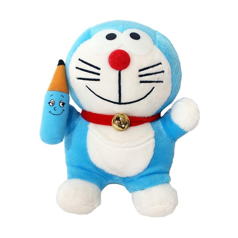 Istana Kado Online Doraemon with Gadget Cop Pensil Boneka [6 Inch]