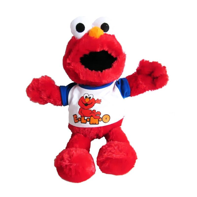 Istana Kado Online Elmo Sesame Street Putih Boneka [19 Inch]
