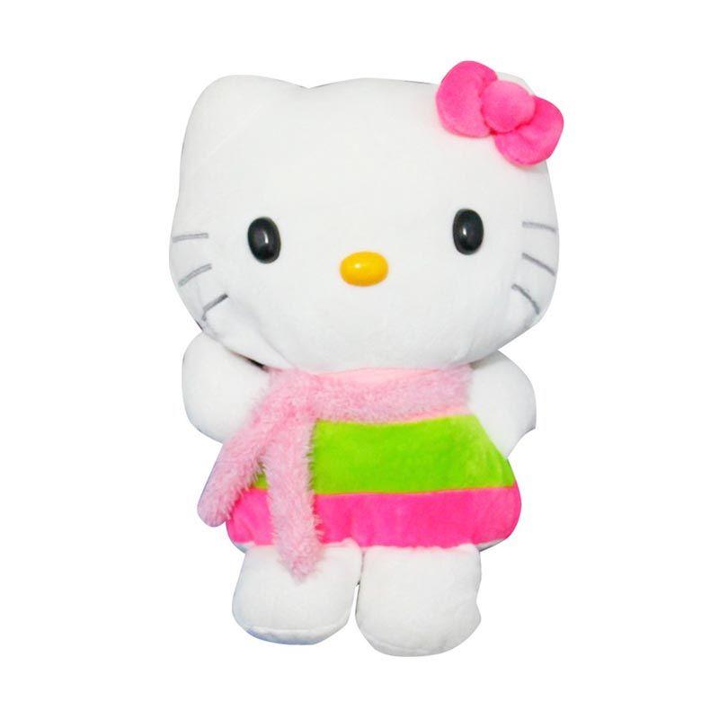 Istana Kado Online Keropi and Friends Pelangi Hello Kitty Boneka [15 Inch]