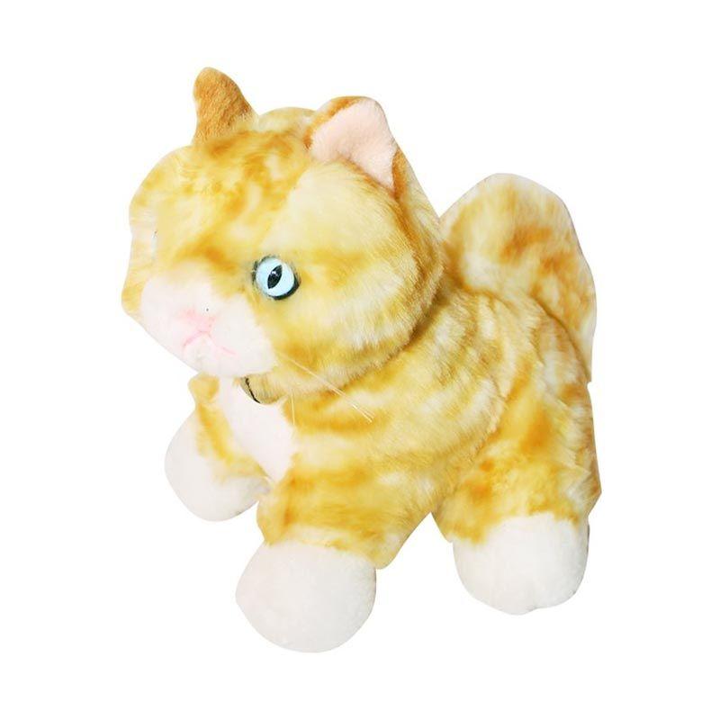 Istana Kado Online Cleo Cat Yellow Boneka [10 Inch]