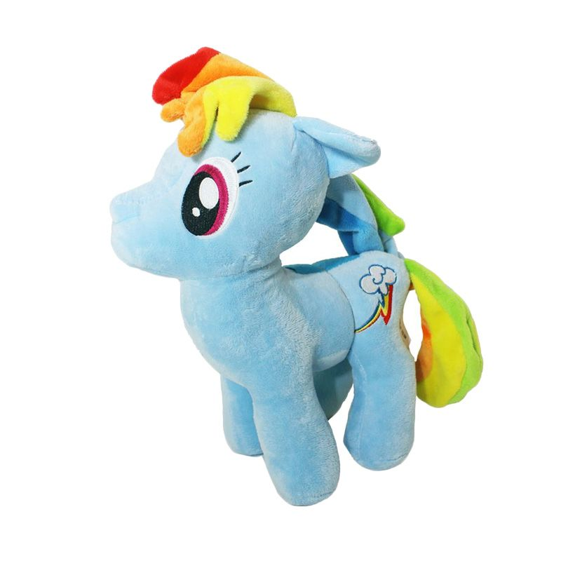 Istana Kado Online My Little Pony Rainbow Dash Blue Boneka [13 Inch]