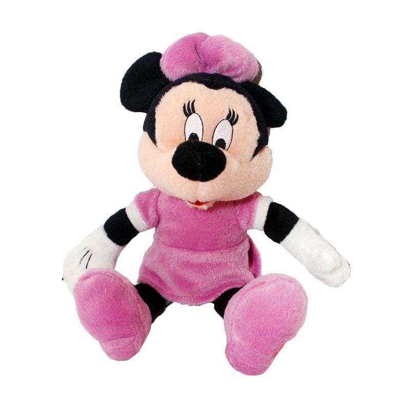 Istana Kado Online Disney Character Minnie Mouse Purple Boneka [10 Inch]