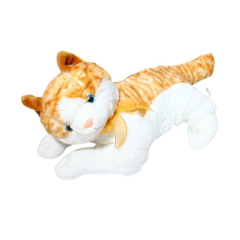 Istana Kado Online Kucing Laying Cleo Cat Boneka [XL]
