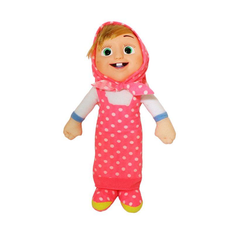 Istana Kado Online Marsha Girl Polkadot Pink Boneka [13 Inch]