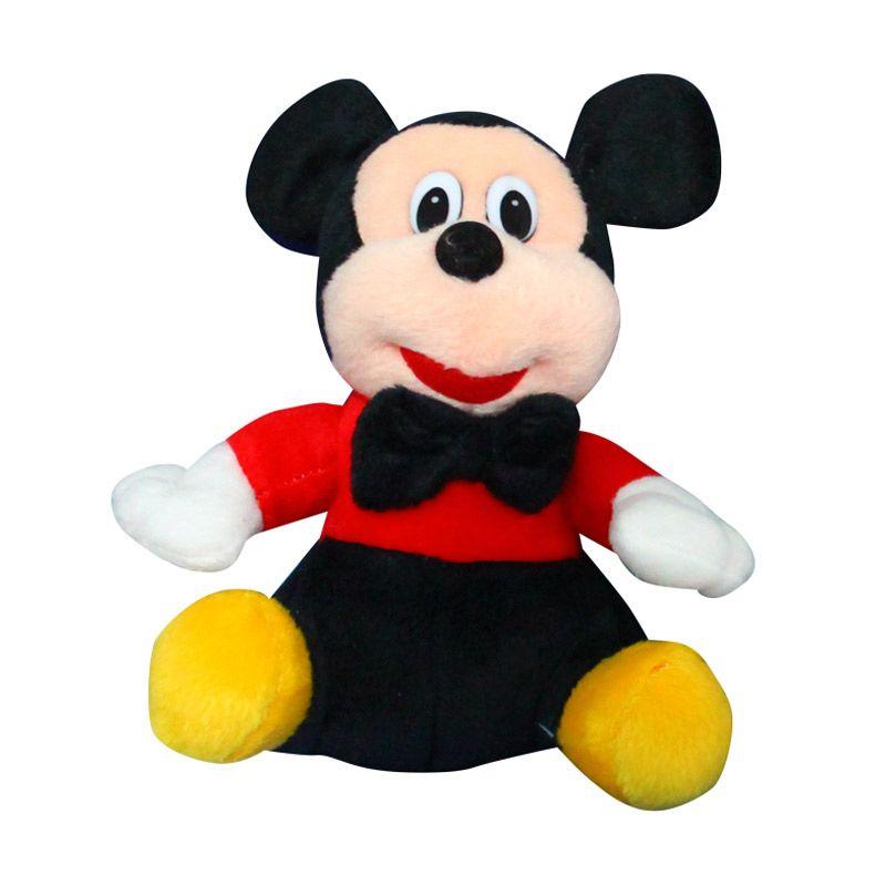 Istana Kado Online Sitting Disney Character Mickey Mouse Boneka [15 Inch]
