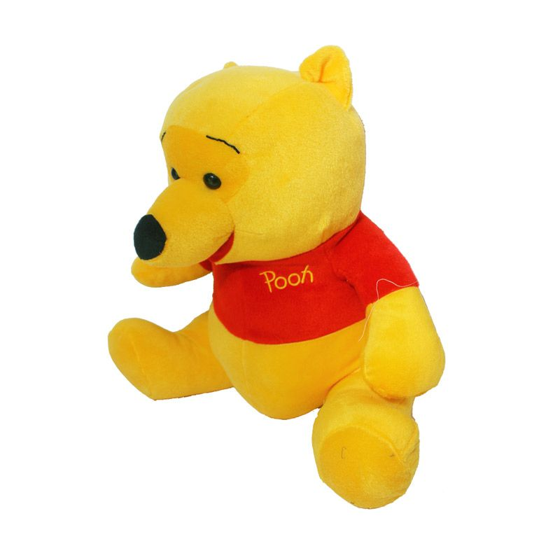 Istana Kado Online Sitting Disney Character Pooh Boneka [15 Inch]