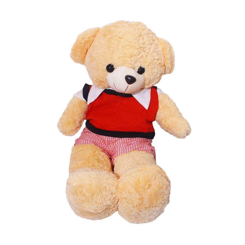 Istana Kado Online Teddy Bear Boy Stripe Pattern Boneka [20 Inch]