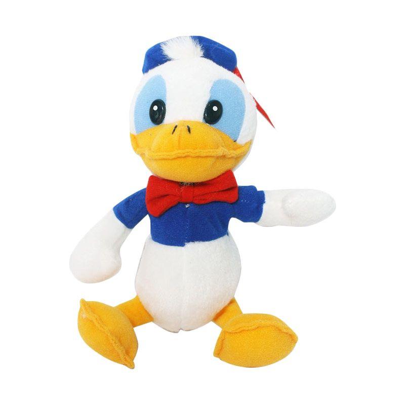 Istana Kado Online Sitting Disney Character Cop Donald Duck Boneka [8 Inch]