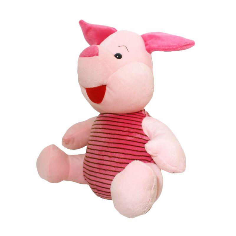 Istana Kado Online Sitting Disney Character Piglet Boneka [15 Inch]