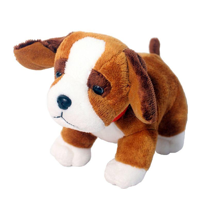 Istana Kado Online Sitting Dog Assorted Cavalier Coklat Boneka [6 Inch]