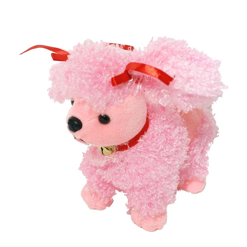 Istana Kado Online Sitting Dog Assorted Pudel Pink Boneka [6 Inch]