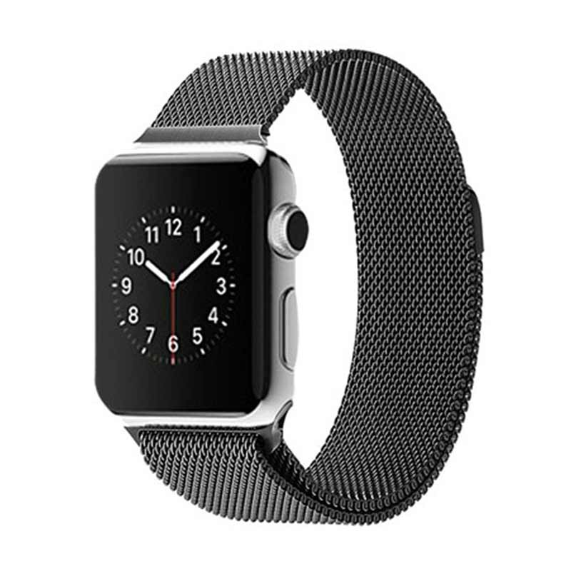 iStomp Milanese Braclet for Apple Watch 38mm - Black