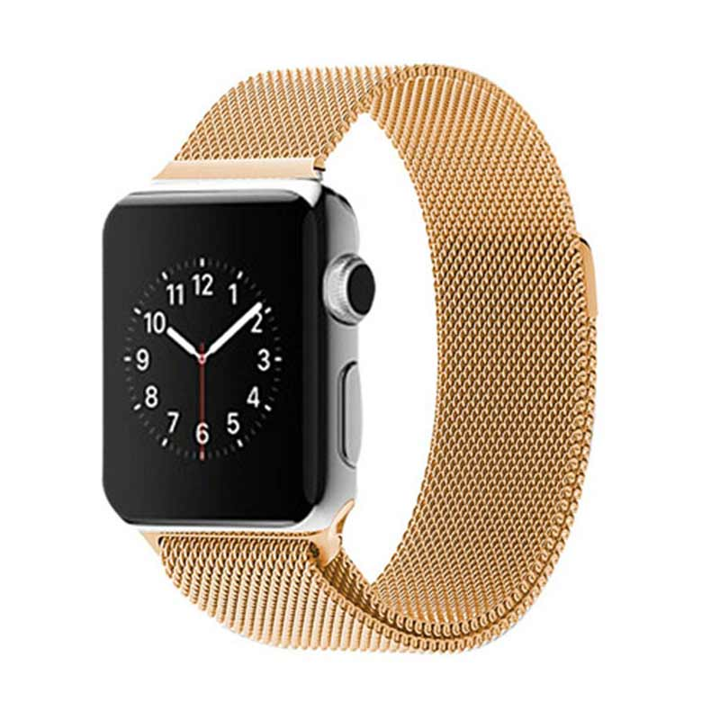 iStomp Milanese Braclet for Apple Watch 38mm - Gold