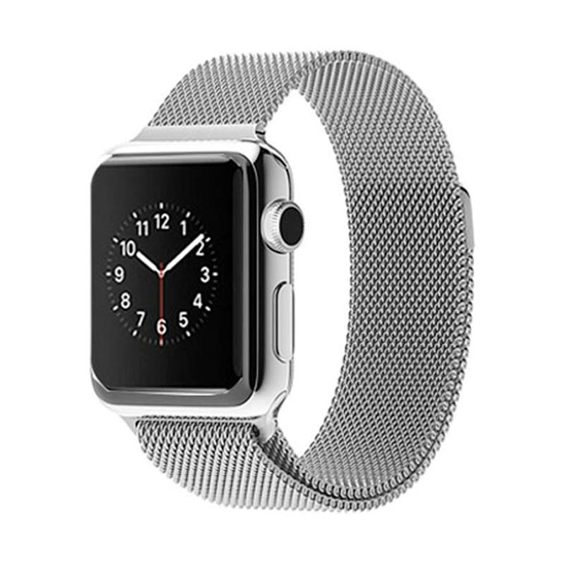 iStomp Milanese Braclet for Apple Watch 38mm - Silver