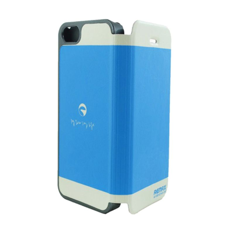 Remax iPhone 5 Thunderbolt - Biru