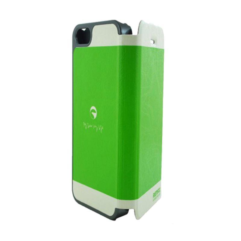 Remax iPhone 5 Thunderbolt - Hijau