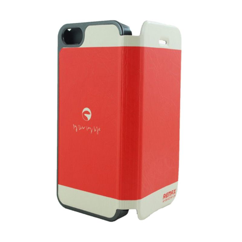 Remax iPhone 5 Thunderbolt - Merah