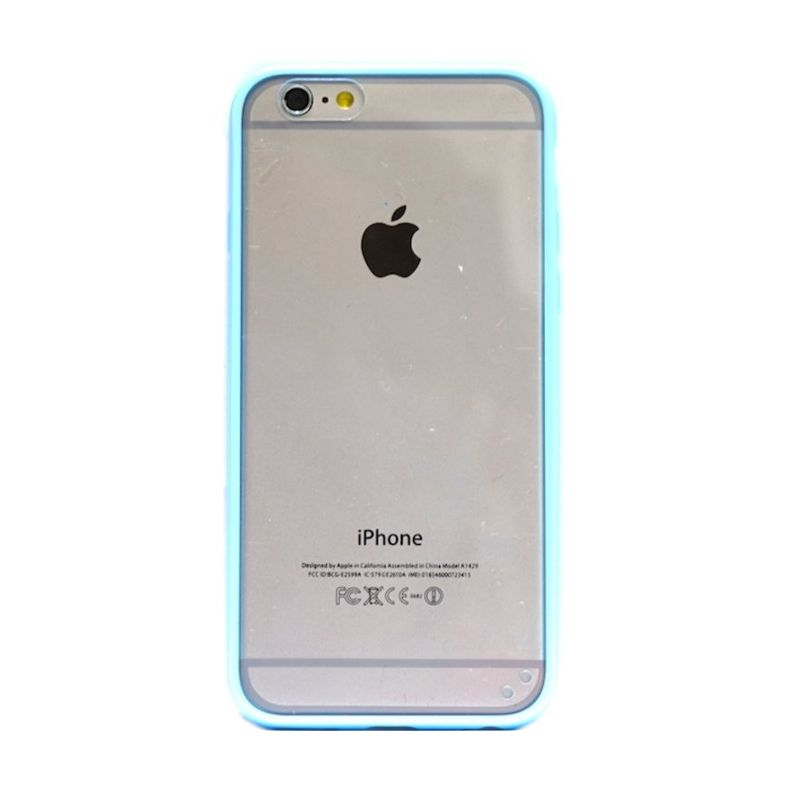 Hog Mika Bumper Biru Casing for iPhone 6