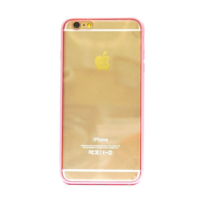 Hog Mika Bumper Peach Casing for iPhone 6 Plus