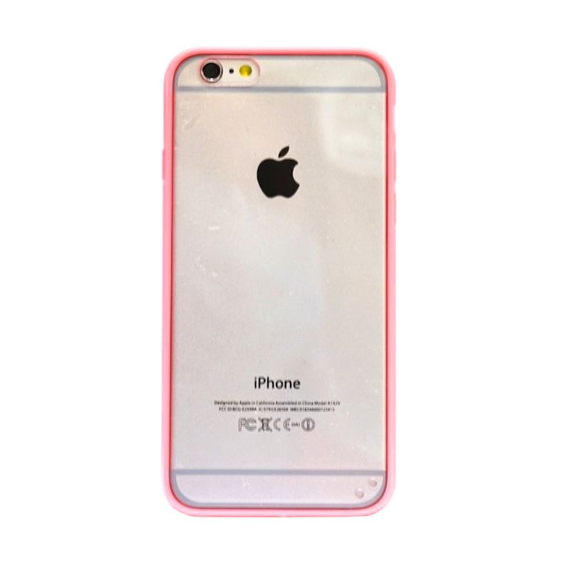 Hog Mika Bumper Peach Casing for iPhone 6