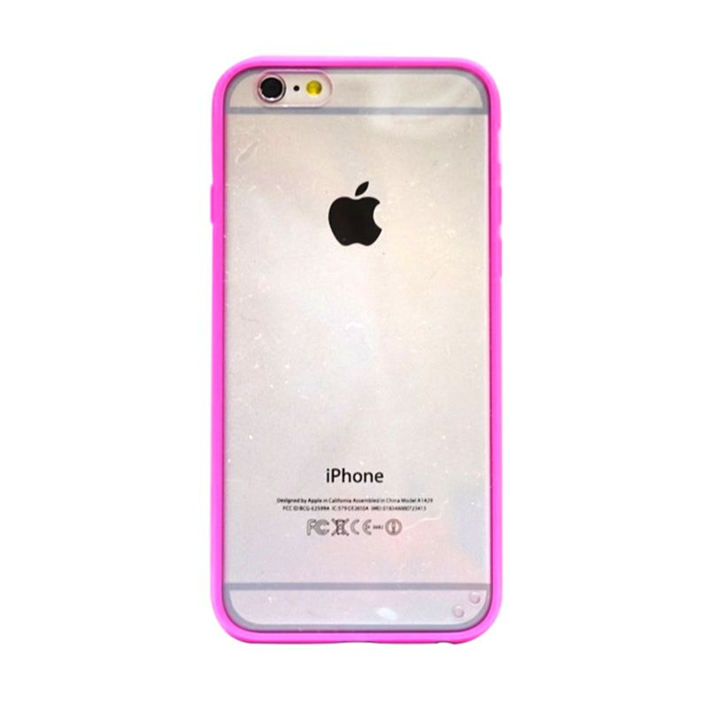 Hog Mika Bumper Pink Casing for iPhone 6