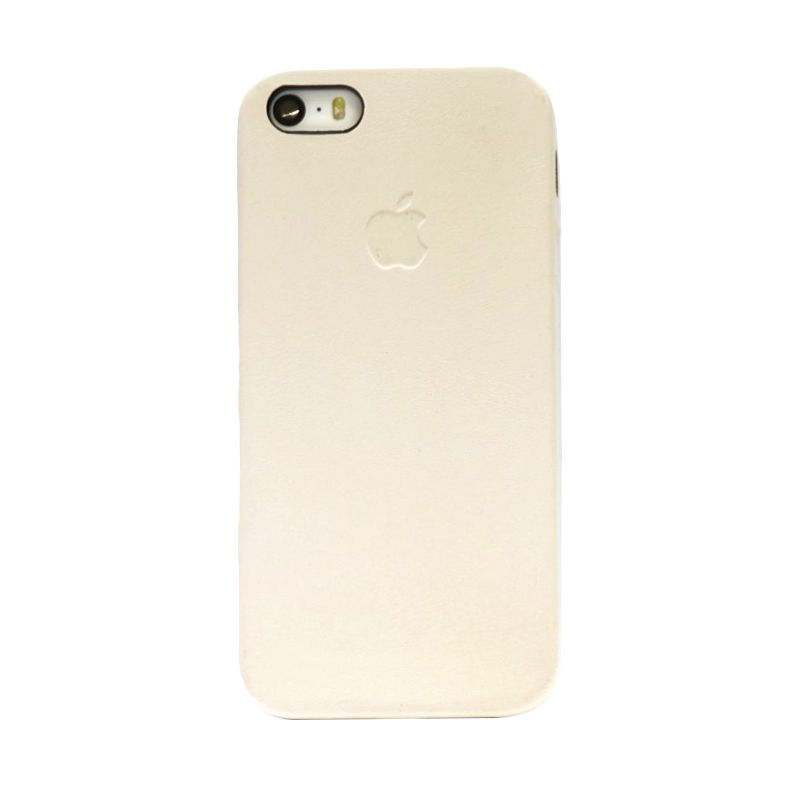 Hog Simply Leather Cream Casing For Iphone 5 or 5S