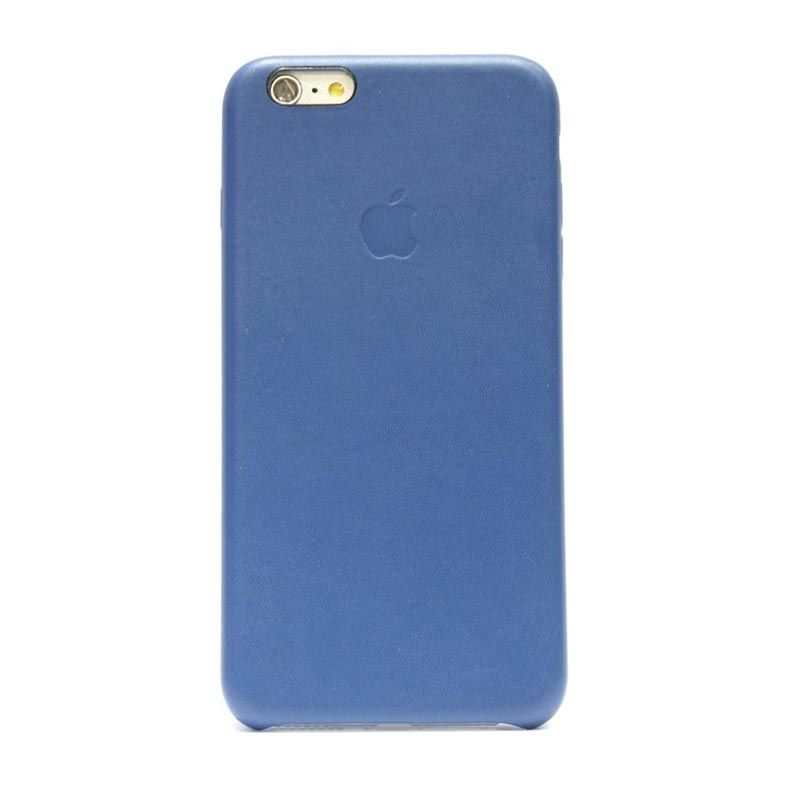 Hog Simply Leather Navy Blue Casing for iPhone 6