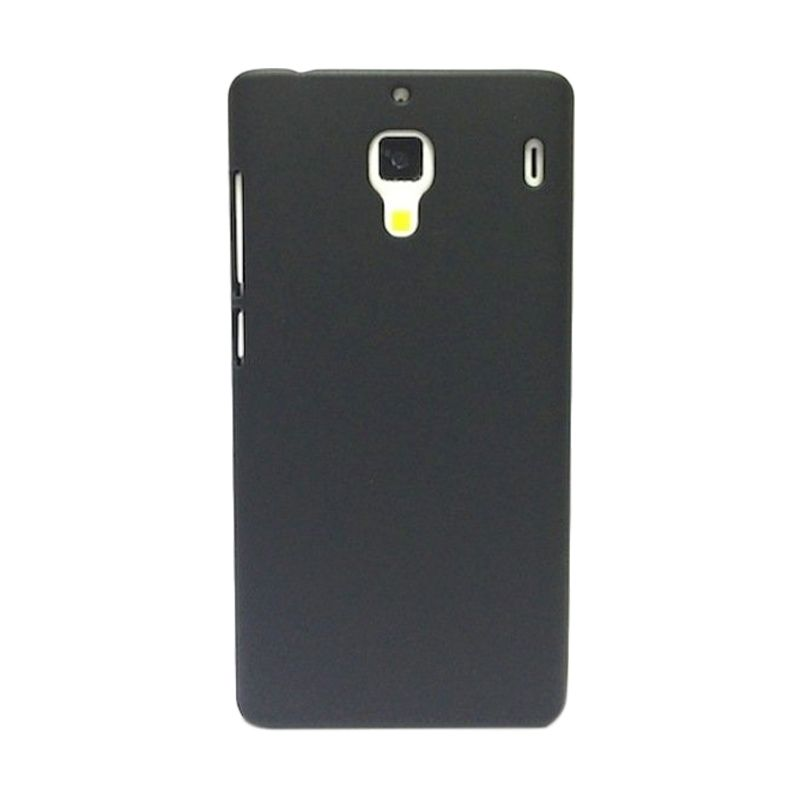 Hog Super Frosted Hitam Casing For Xiaomi Redmi 1s