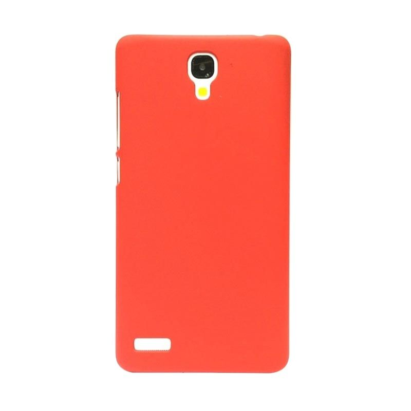 Hog Super Frosted Merah Casing For Xiaomi Redmi Note