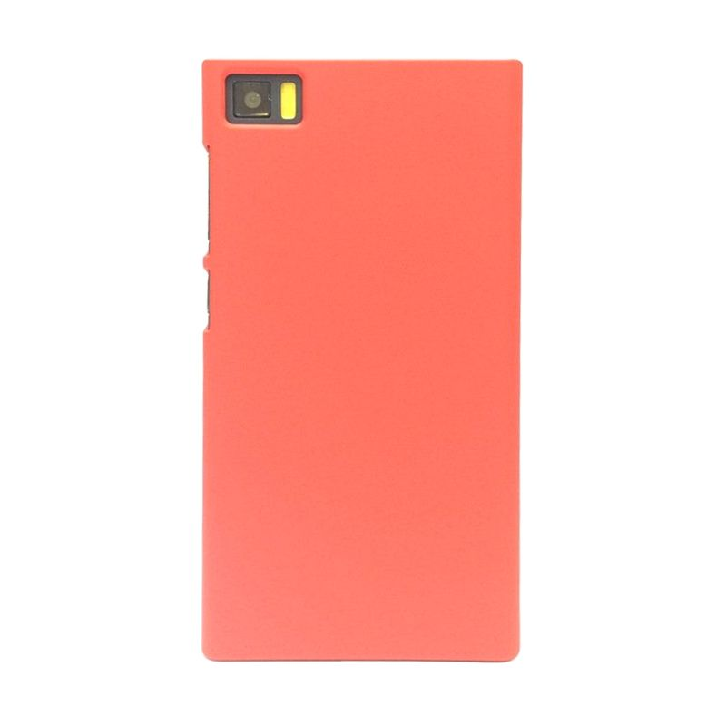 Hog Super Frosted Merah Casing For Xiaomi Mi3