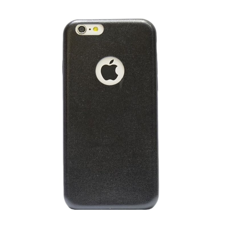 Hog Thin Leather Hitam Casing For Iphone 6