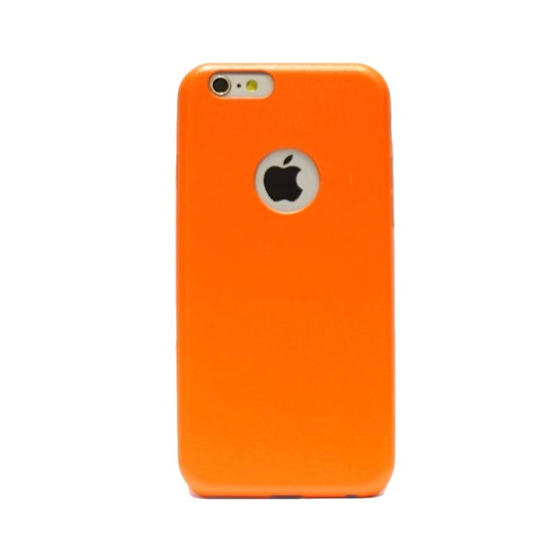 Hog Thin Leather Orange Casing For Iphone 6