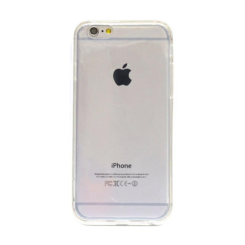Hog TPU Bumper Putih Casing for iPhone 6