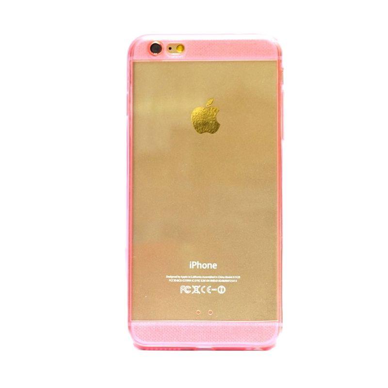 Hog TPU Diamond Pink Casing for iPhone 6 Plus
