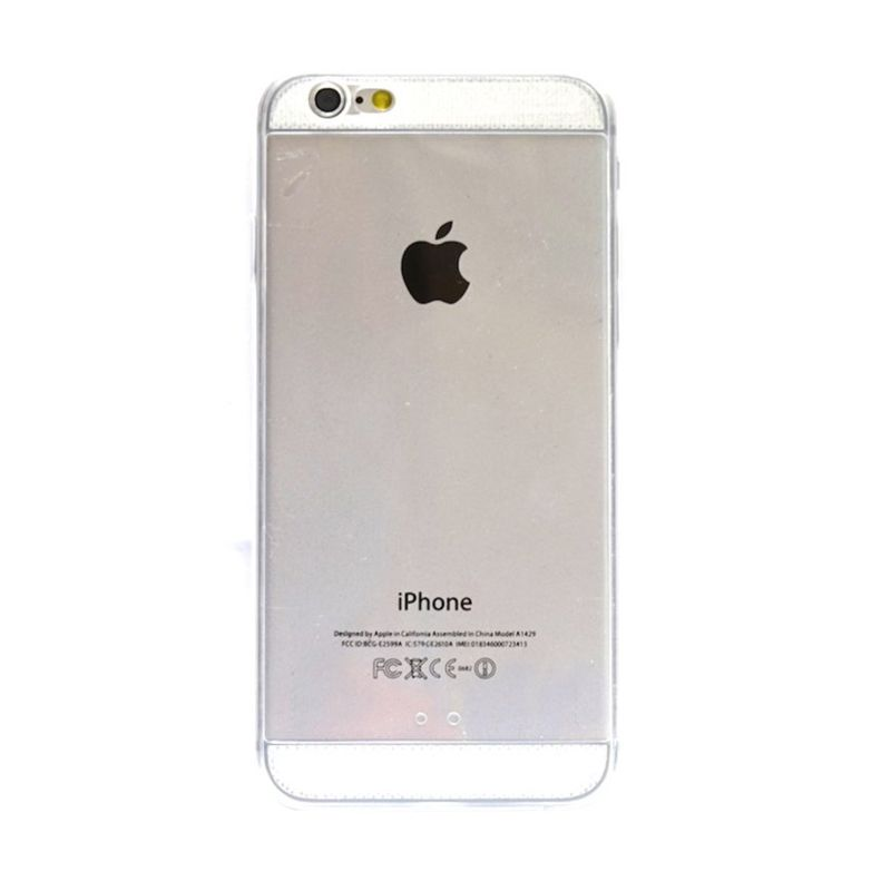 Hog TPU Diamond Putih Casing for iPhone 6