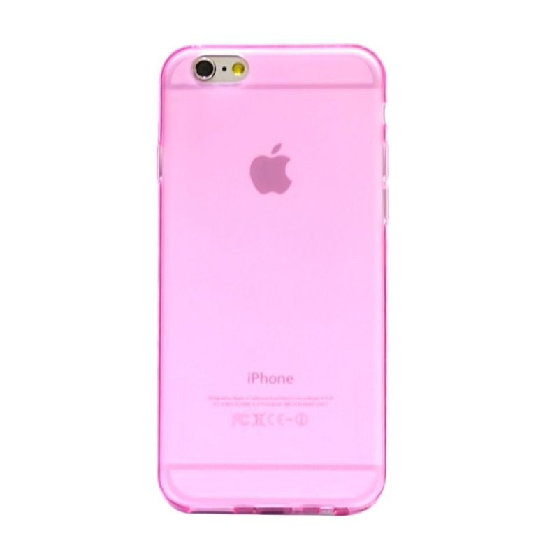 Hog TPU Dove Pink Softcase Casing for iPhone 6