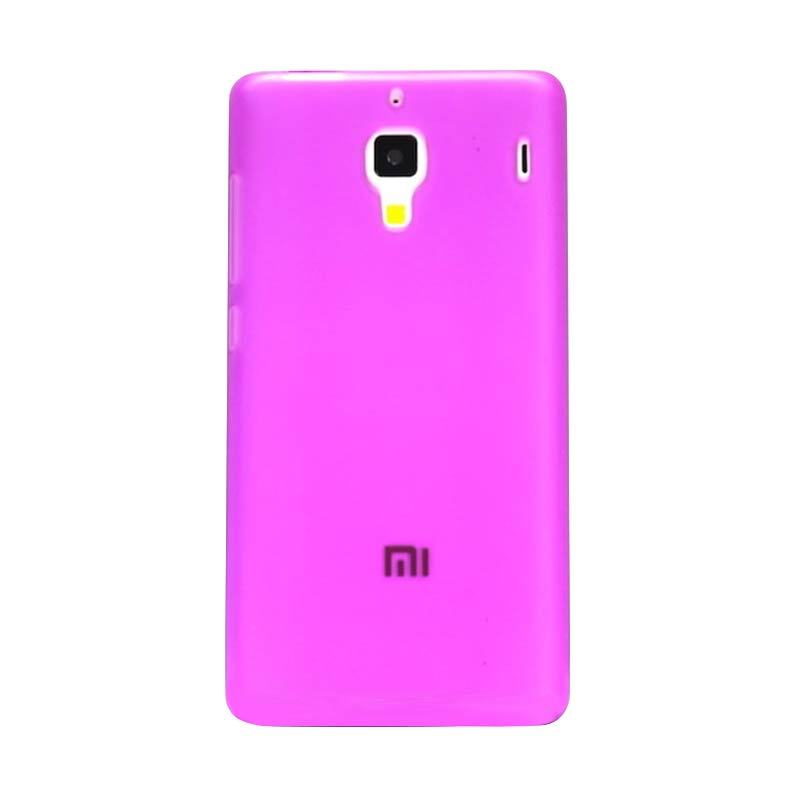 Hog TPU Dove Pink Casing for Xiaomi Redmi 1S