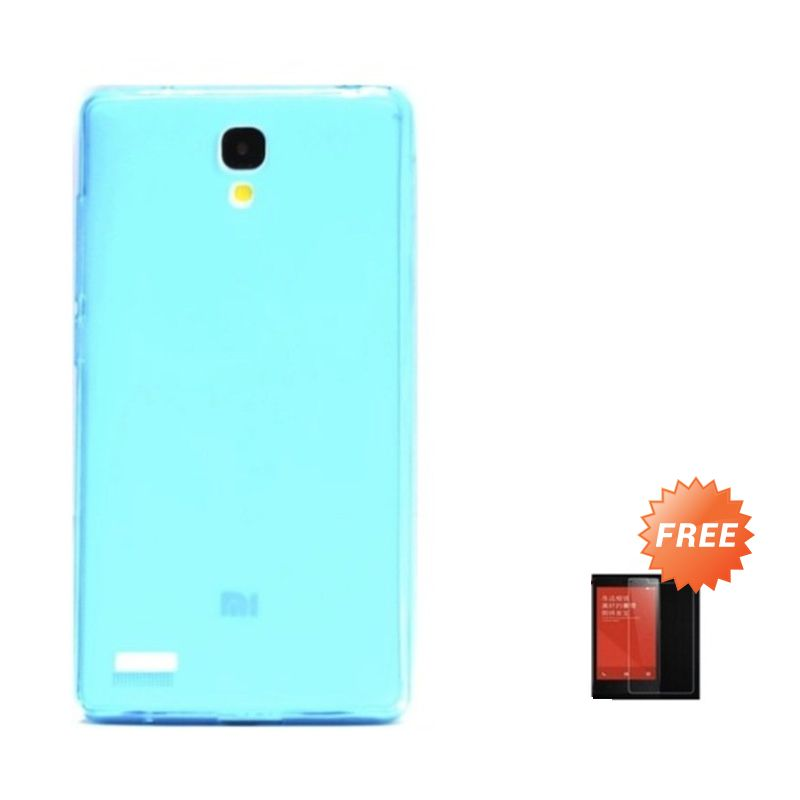Hog TPU Dove Tosca Softcase Casing for Xiaomi Redmi Note + Tempered Glass Screen Protector
