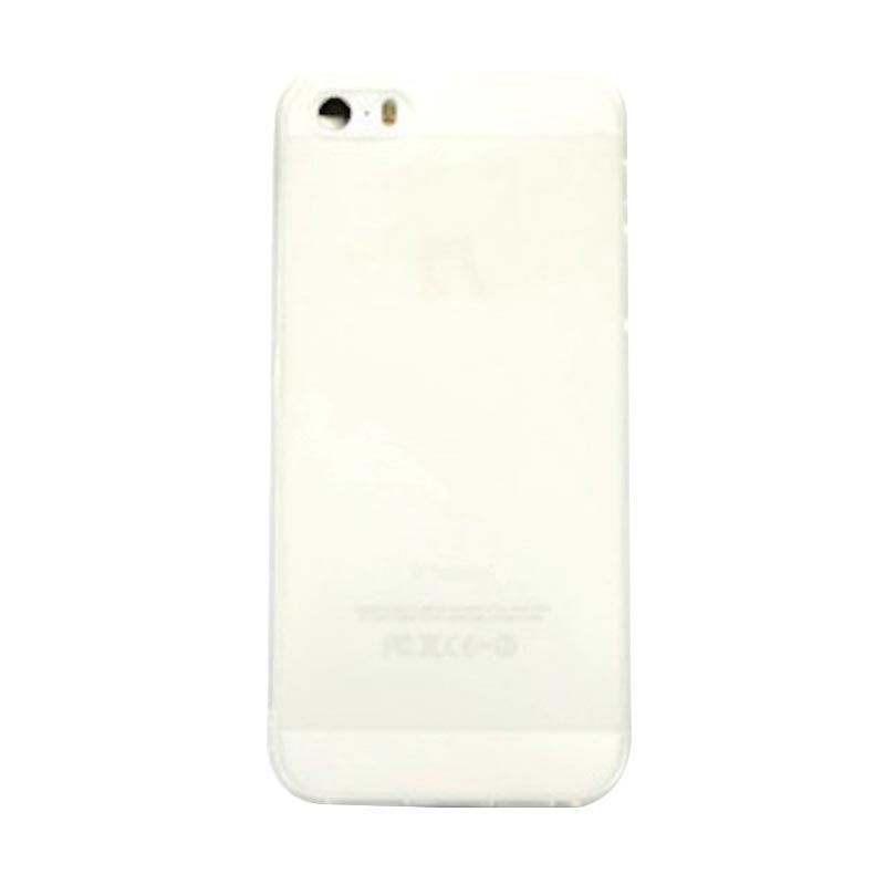 Hog TPU Dove White Casing for iPhone 5 or 5S