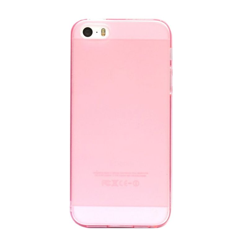 Hog TPU Doves Pink Casing For iPhone 5 or 5