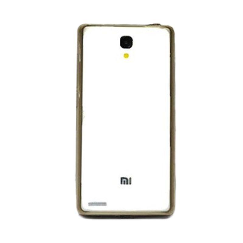 Hog TPU Mika Hitam Casing for Xiaomi Redmi Note