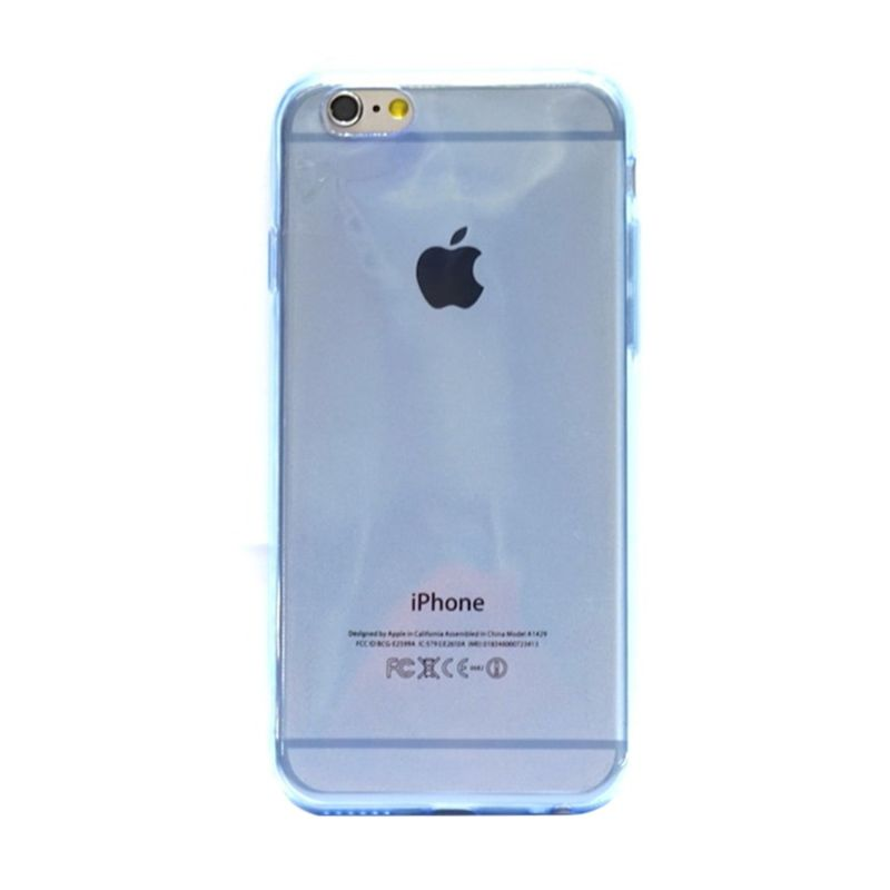 Hog TPU Slim Biru Casing for iPhone 6