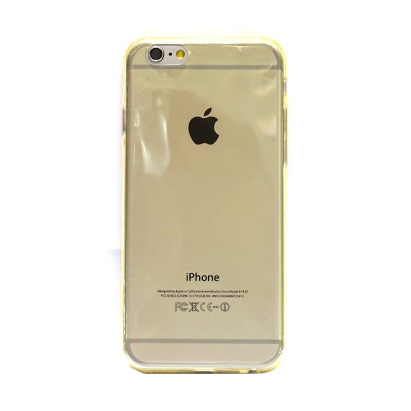 Hog TPU Slim Gold Casing for iPhone 6