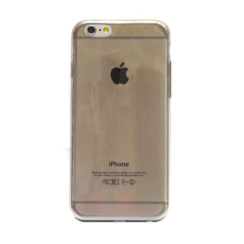 Hog TPU Slim Hitam Casing for iPhone 6