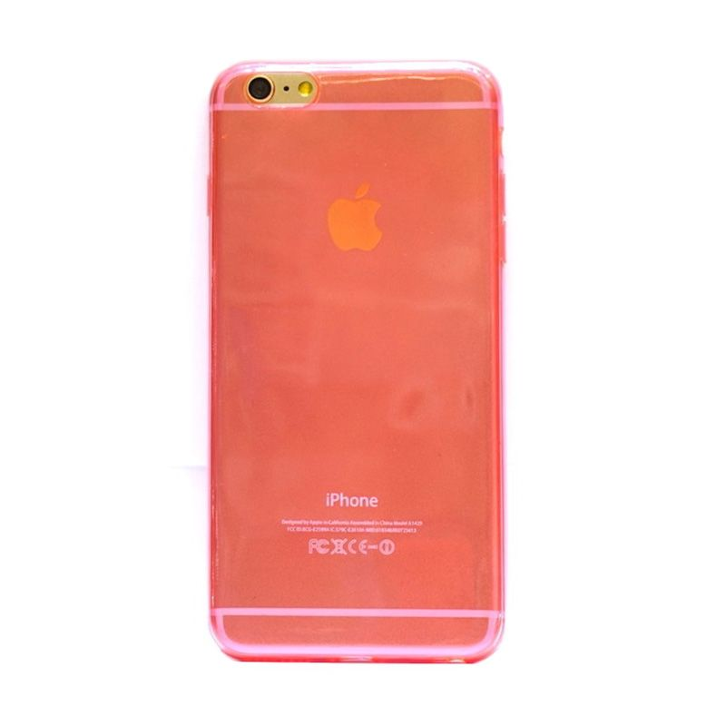 Hog TPU Slim Pink Casing for iPhone 6 Plus